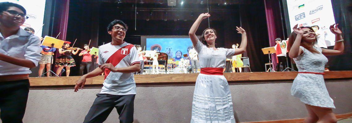 Diversidade cultural no palco